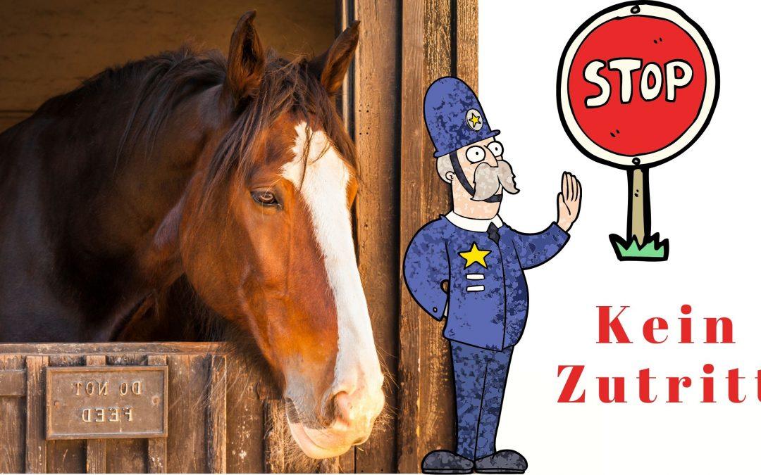 FN Merkblatt Pferdebetrieb Schließung